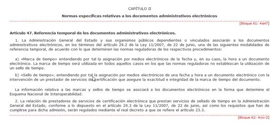 Real Decreto 1671-2009-Art47b