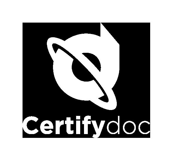 Certifydoc logo white