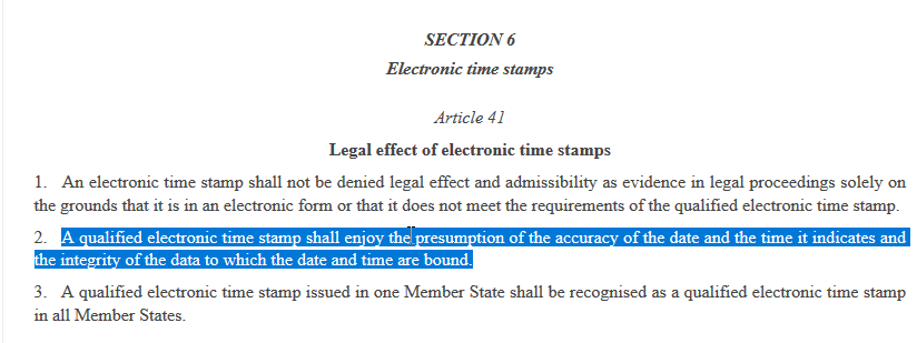 eidas article 41