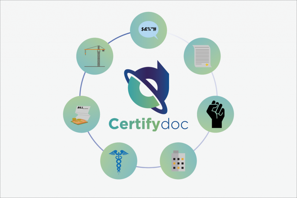 Certifydoc-Usecases